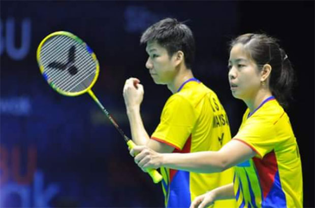 Loss against Zhang Nan/Chen Qingchen offers valuable learning experience for Goh Soon Huat/Shevon Jemie Lai. (photo: Bernama)