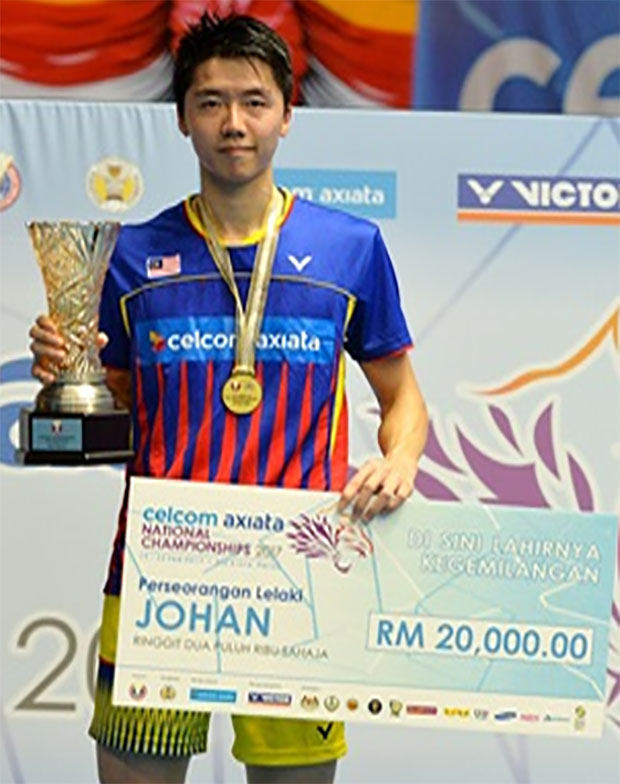 Congratulations to Lim Chi Wing for winning the 2017 Malaysian national championships. (photo: Bernama)