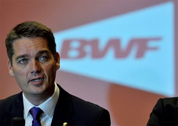 Congratulations to Poul-Erik Hoyer Larsen on his re-election as President of BWF. (photo: AP)
