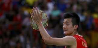 Despite huge disappointment at German Open, Chen Long will shift his attention to the All England. (photo: AP)