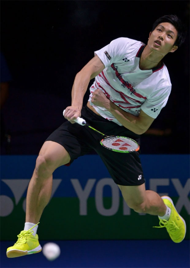 Chou Tien Chen gets a good start in 2017 by winning the German Open. (photo:AP)