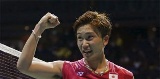 Kento Momota is one of the best badminton players in the world. (photo: AP)