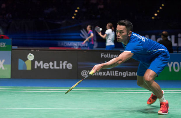 Lin Dan is the top favourite to win Swiss Open. (photo: AFP)