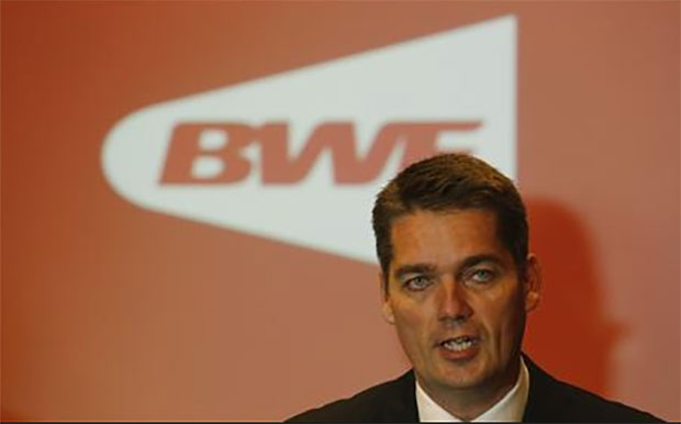 BWF president Poul-Erik Hoyer Larsen works very hard to boost the popularity of badminton. (photo: BWF)