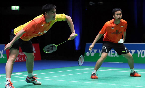 Hope Hendra Setiawan/Tan Boon Heong can make it to the World Championships. (photo: BWF)