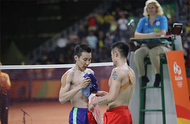 Lee Chong Wei and Lin Dan are the biggest box-office stars and most powerful figures in badminton. (photo: AFP)