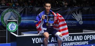 Lee Chong Wei still has the desire to win more badminton titles. (photo: AFP)