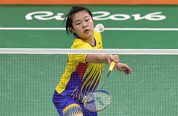 Tee Jing Yi gets a chance to reboot her career in women's doubles. (photo: AFP)