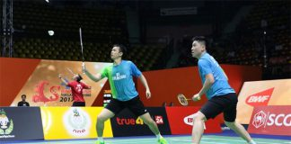 Hendra Setiawan and Tan Boon Heong. (photo: AFP)