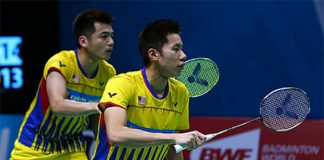 Goh V Shem/Tan Wee Kiong hoping to bounce back at Singapore Open from their recent dissapointments. (photo: AFP)