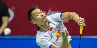 Lin Dan shows determination to return to the top of badminton.