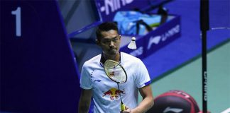 Lin Dan is still defying his age.