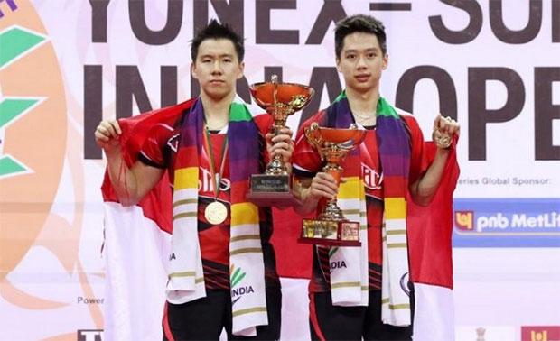 Kevin Sanjaya Sukamuljo/Marcus Fernaldi Gideon pull out of the 2017 Badminton Asia Championships.