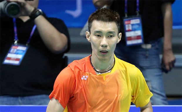 Lee Chong Wei eases into second round of 2017 Badminton Asia Championships.
