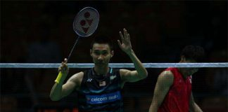 Lee Chong Wei tops men's world rankings.