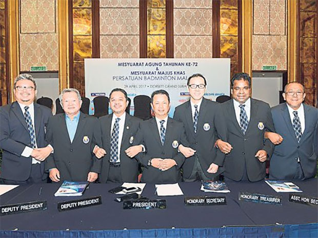 Hope Malaysian badminton could reach new heights under Mohamad Norza's leadership.