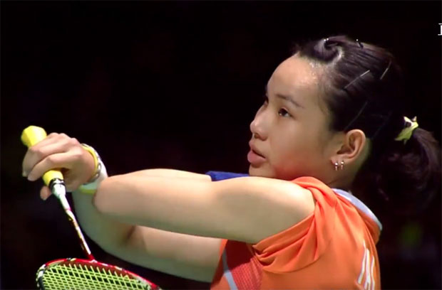 The story of Tai Tzu Ying, her shirts, Yonex and Victor.