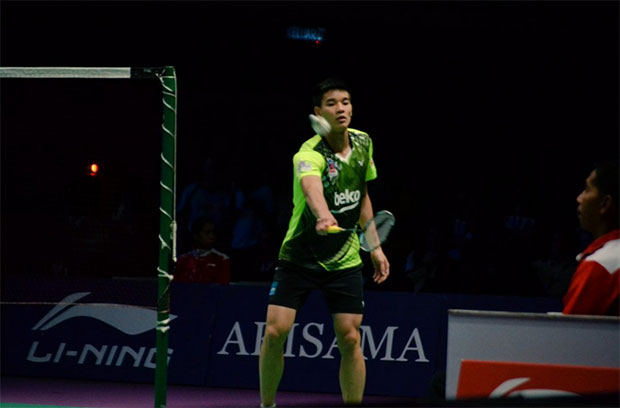 Soo Teck Zhi suffers a semi-final exit at the 2017 Thailand International Challenge.