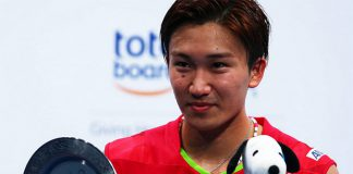 Can't wait for Kento Momota to get back to badminton court.