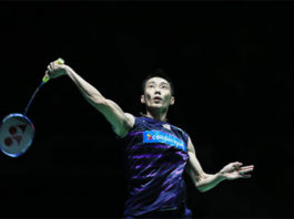 Lee Chong Wei kicks off Sudirman Cup in style. (photo: AP)