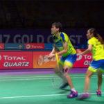 What an amazing racquet exchange from Tan Kian Meng/Lai Pei Jing!