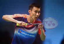 Lee Chong Wei is the most reliable player in the Malaysian team. (photo:AFP)