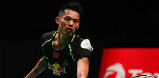 Lin Dan is keeping a steady pace in his buildup for the Sudirman Cup final.