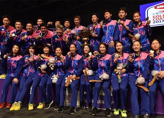 Congratulations to Korea for winning the 2017 Sudirman Cup.