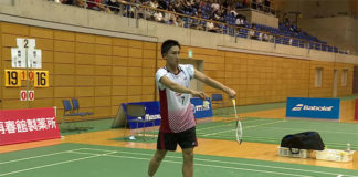 Kento Momota advances to the final of Japan Ranking Circuit.