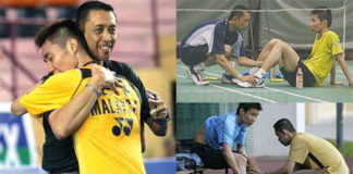 Lee Chong Wei and Misbun Sidek are the best player/coach combo in Malaysian badminton. (photo: Misbun's blog)