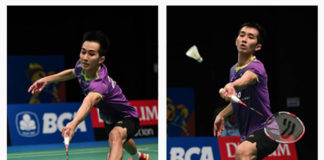 Chong Wei Feng makes strong run to enter Indonesia Open main draw.