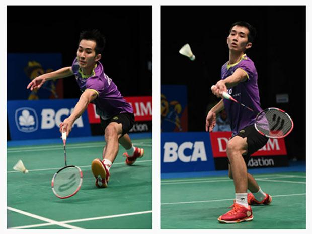 Chong Wei Feng makes strong run to enter Indonesia Open main draw.