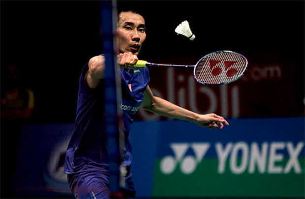 Lee Chong Wei marches on to the Indonesia Open second round. (photo: AP)