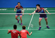 Tan Kian Meng/Lai Pei Jing are rising stars in mixed doubles. (photo: AP)
