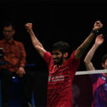 Kidambi Srikanth beats World No. 1 Son Wan Ho twice in two weeks. (photo: AFP)