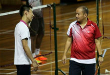Hendrawan (right) has good working relationship with Lee Chong Wei. (photo: BH)