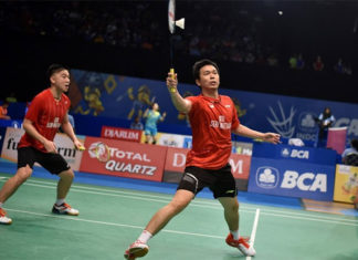 Hendra Setiawan/Tan Boon Heong will meet Takeshi Kamura/Keigo Sonoda for the first time in Australian Open final. (photo: AP)