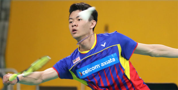 Lee Zii Jia is an up and coming young player from Malaysia. (photo: BWF)