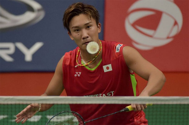 Kento Momota to play his first international tournament (since April 2016) at the Canada Open. (photo: AP)