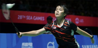 Goh Jin Wei looking forward to challenges at 2017 Kuala Lumpur SEA Games. (photo: AP)
