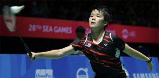 Goh Jin Wei looking forward to challenges at 2017 Kuala Lumpur SEA Games. (photo: AP)