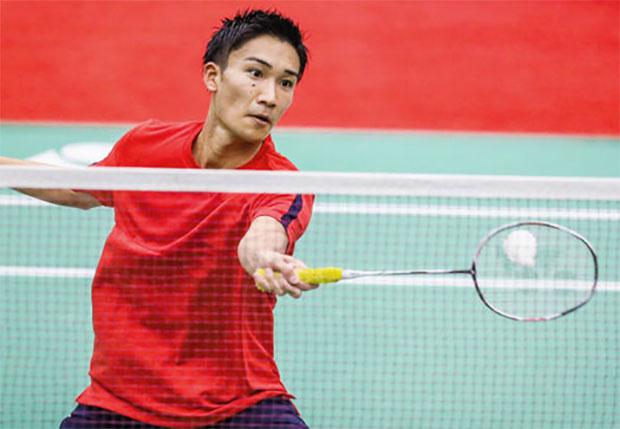 Kento Momota makes steady progress at the Canada Open. (photo: AP)