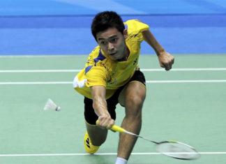 Cheam June Wei shines at Malaysian International Series. (photo: AP)