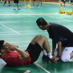 Lee Chong Wei trains as hard as anyone.
