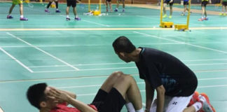 Lee Chong Wei trains as hard as anyone.