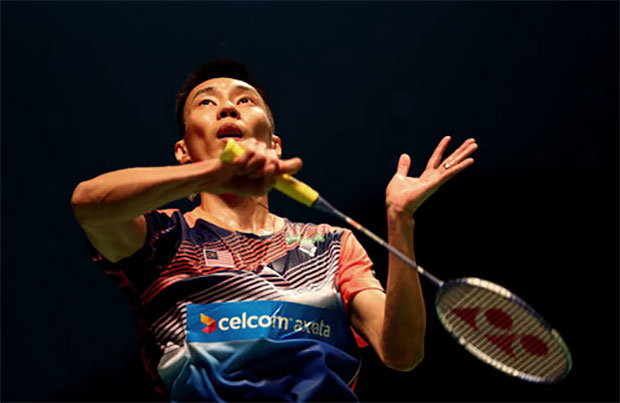 Lee Chong Wei finds inspiration in Roger Federer. (photo: AP)