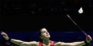 Carolina Marin looking to win her third World Championships title in Glasgow. (photo: AP)
