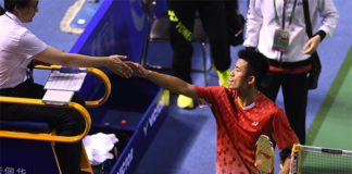 Chen Long needs some rest after a tiring first half of 2017.
