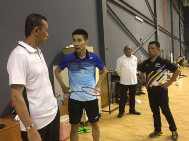 The strong player-coach relationship between Lee Chong Wei and Misbun Sidek is fundamental for ultimate success on the badminton court. (photo: Bernama)