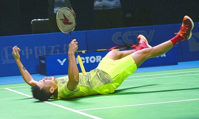 Lin Dan still a strong driving force in badminton.